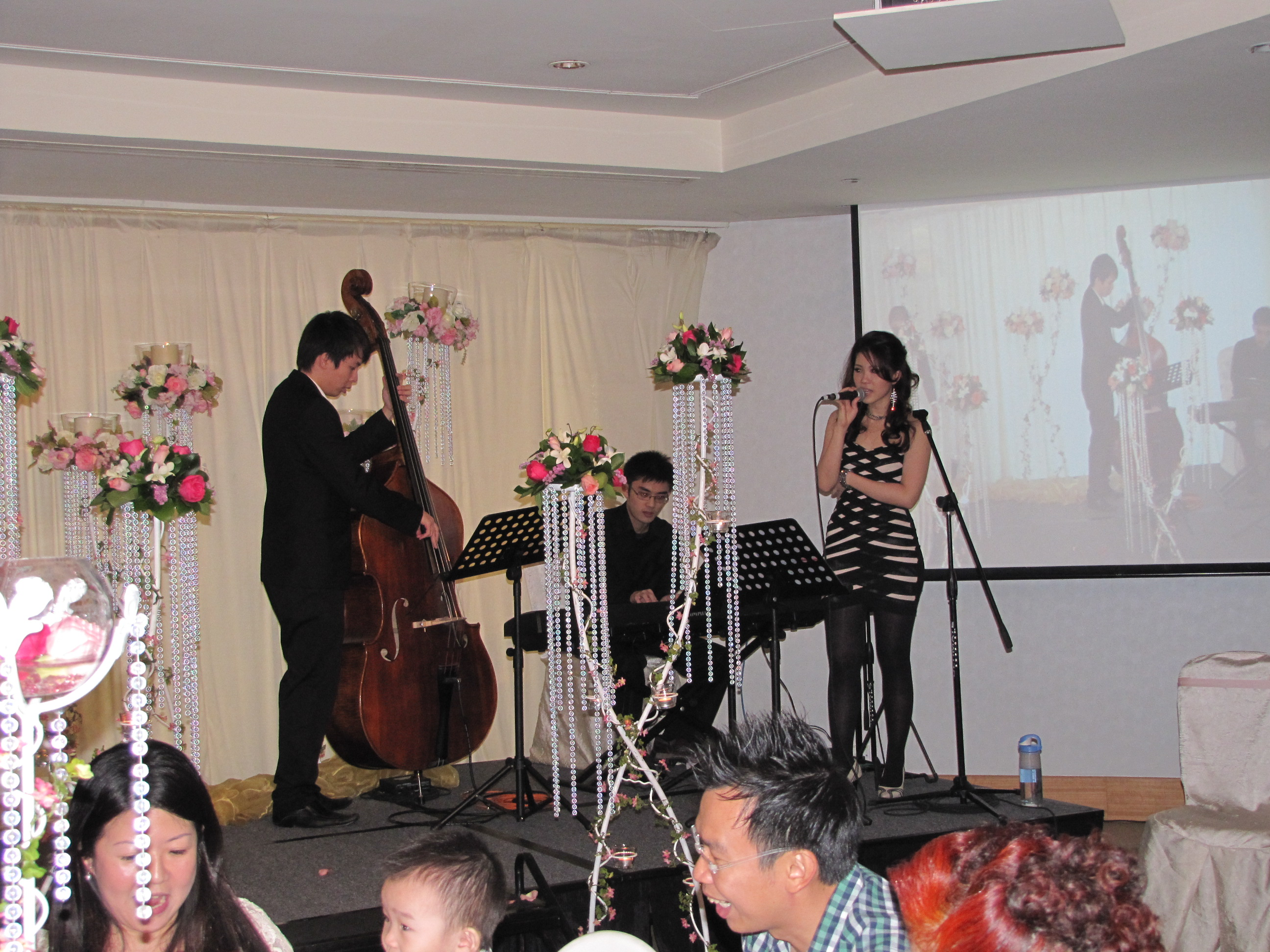 wedding of alvin live in singapore the
