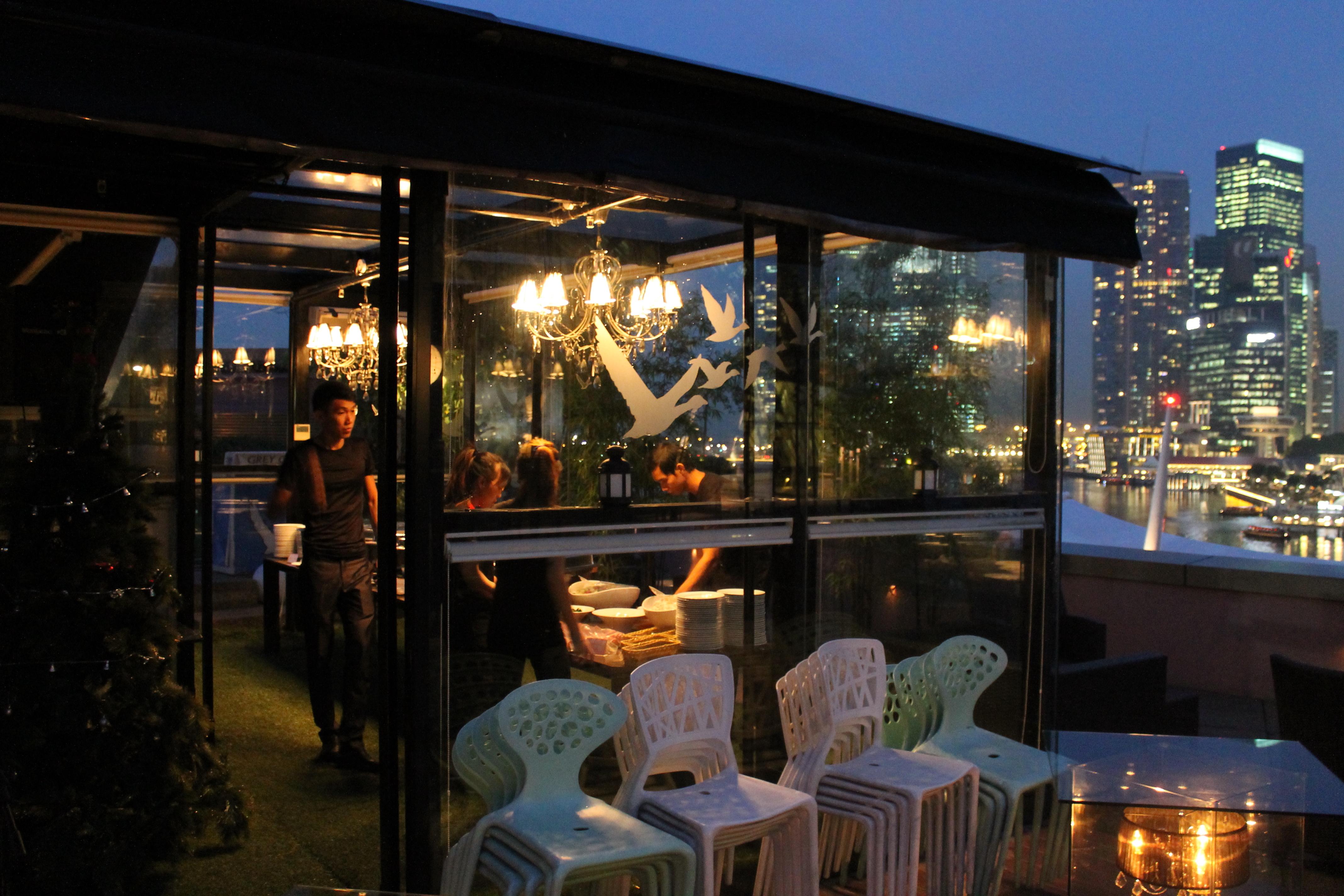 Orgo Bar Restaurant Singapore Menu
