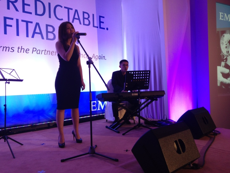 meryljoanlee performs at channel awards night 2013