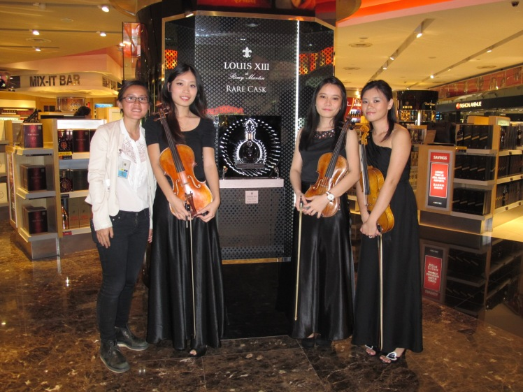 Launch of Louis XII de Remy Martin Rare Cask by Quartetto, Red Kite String Trio
