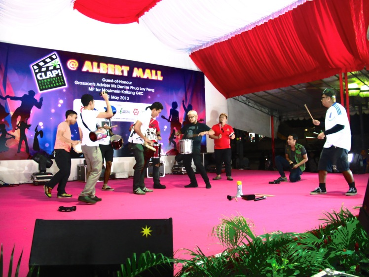 Offbeatz, a Red Kite Percussionist Group in Singapore