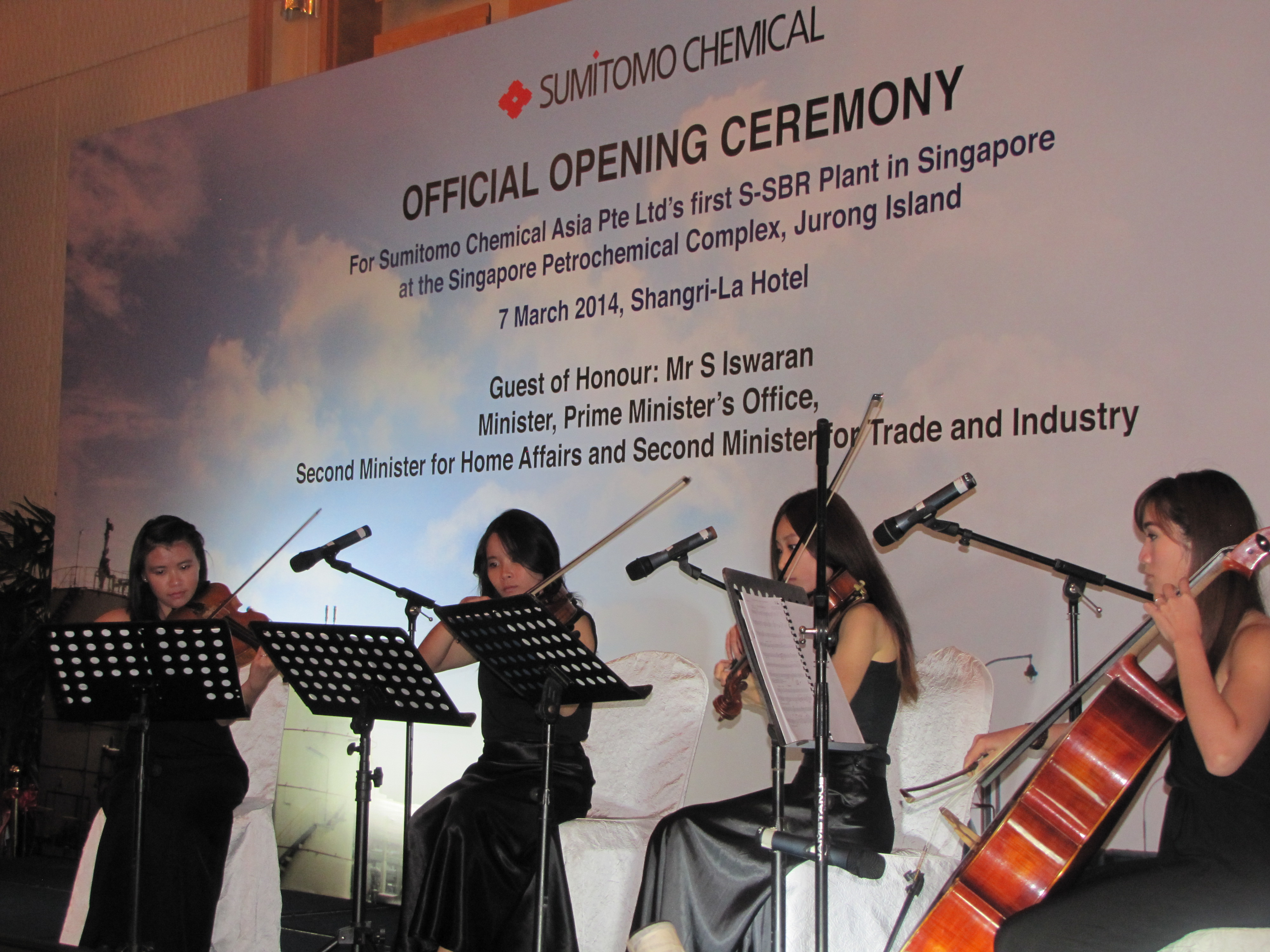 Strings for Sumitomo – Live Music in Singapore