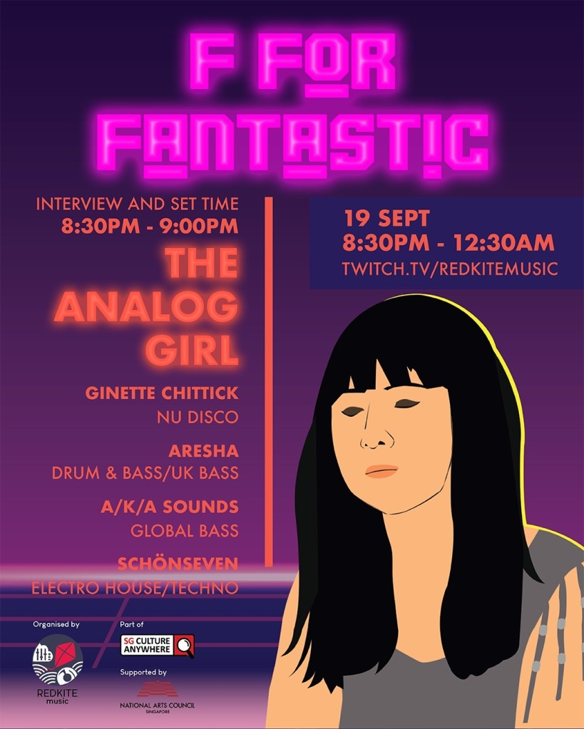We spoke to The Analog Girl with 3 questions too.